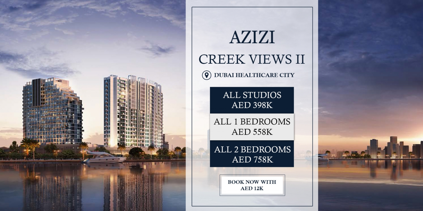 Azizi Creek Views II Dubai