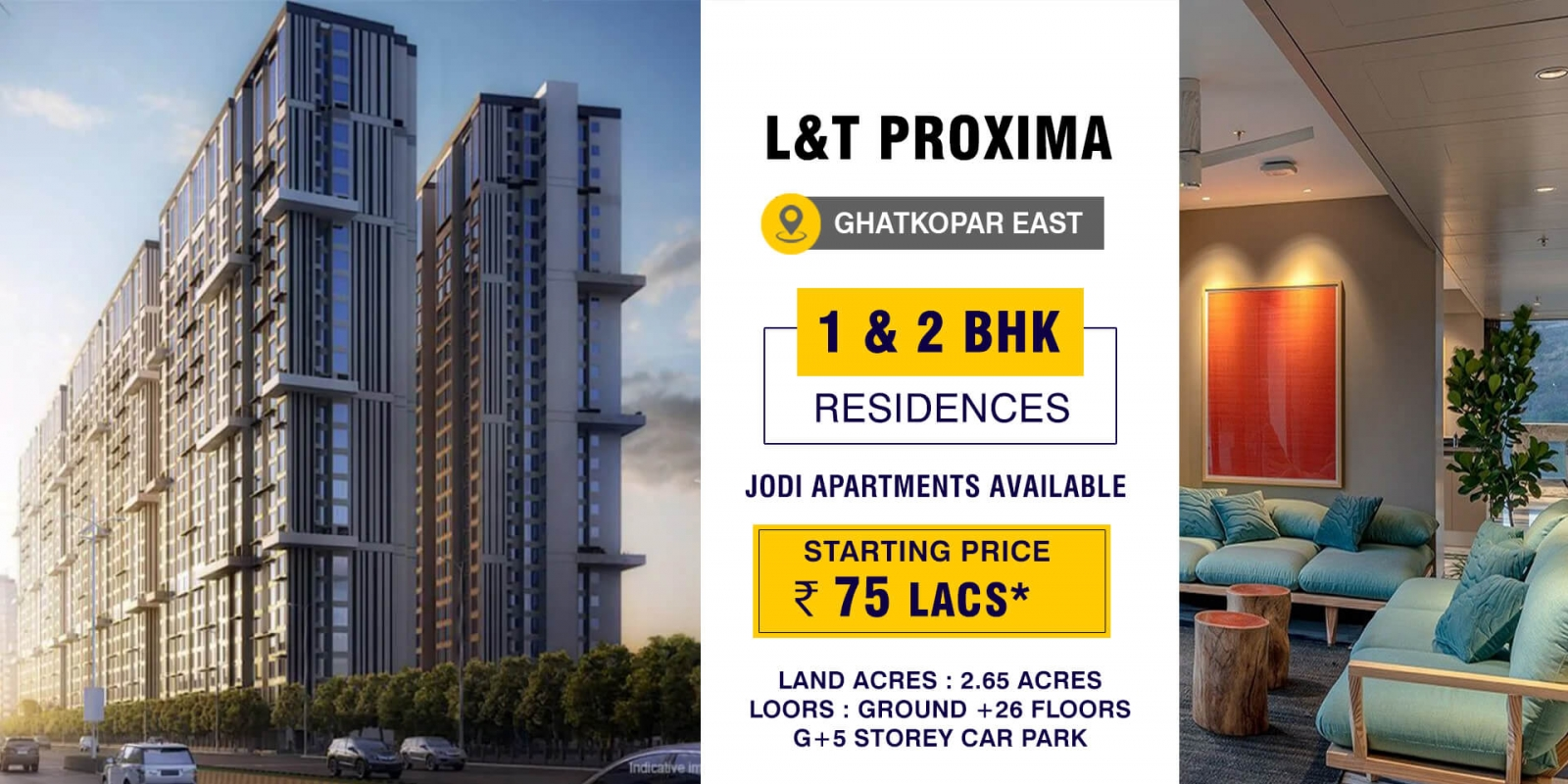 LnT Proxima at Ghatkopar East