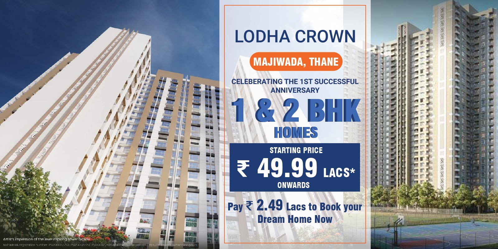 Lodha Crown Majiwada Thane