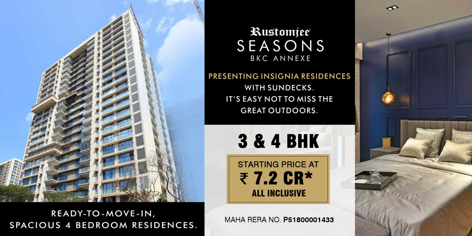 Rustomjee Seasons Bandra East