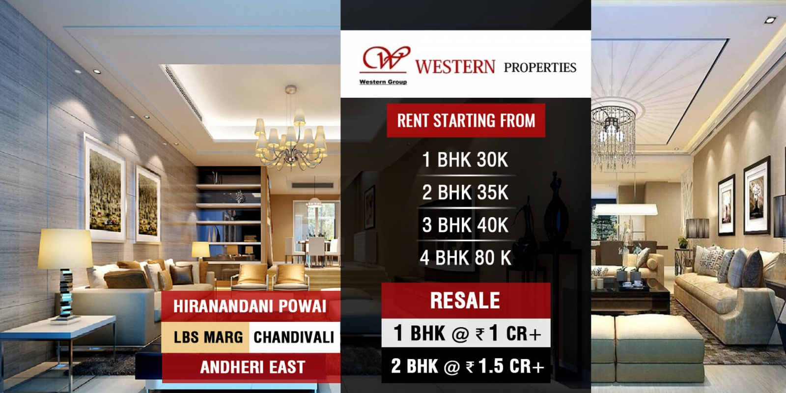 residential rent in hiranandani powai